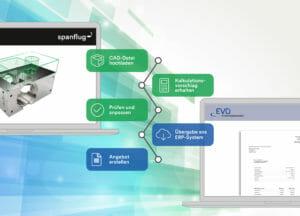 Dreh- und Frästeile: Angebote im ERP-System schnell aus Konstruktionsdaten generieren