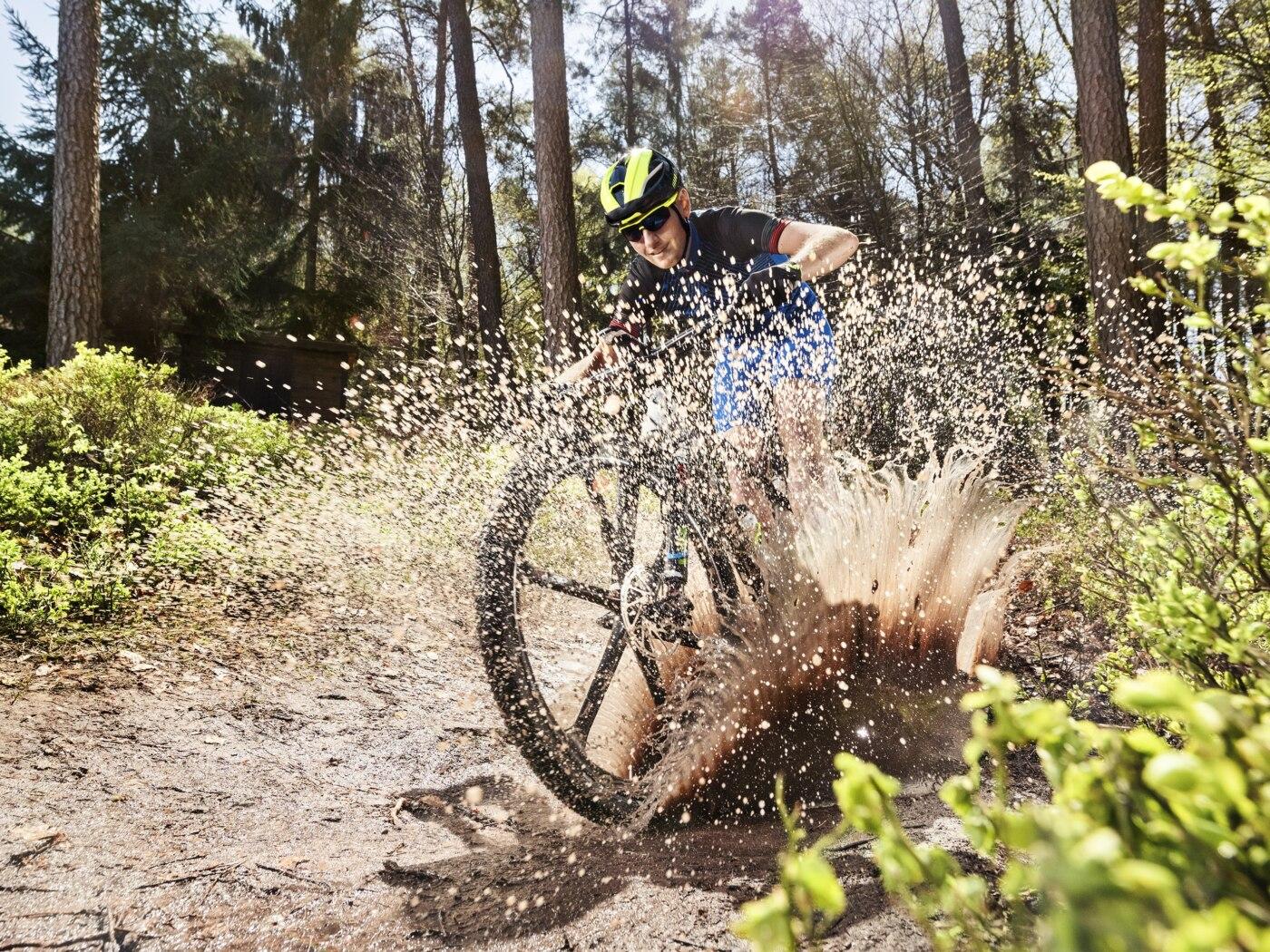 SKF auf der Eurobike: Rad-Lager und Dichtungen für Mountainbikes