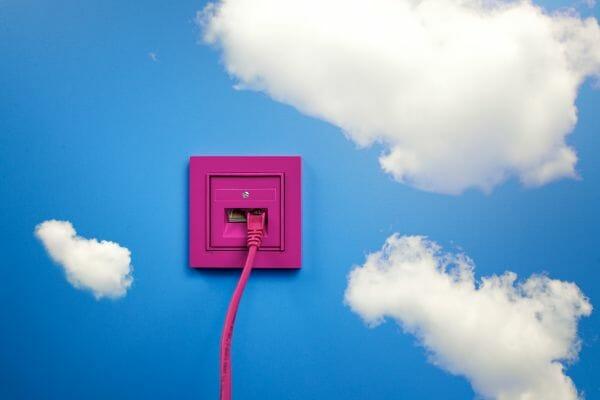 Verbindung in die Cloud