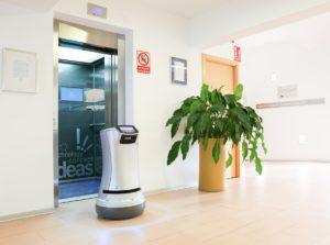 Aufzüge mit Schnittstelle für Roboter