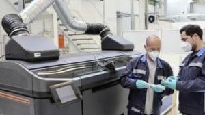Binder-Jetting in der Autoproduktion bei VW: Zusammenarbeit mit Siemens
