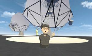 VR-Konferenzsystem beim Design von Teleskopen